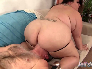 Chubby Wench Bella Bendz Takes an Intense Fucking from an Older Guy