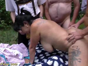 outdoor oktoberfest fuck orgy