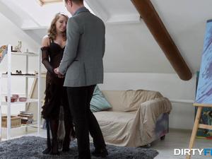 Dirty Flix - Sofi Goldfinger - First courtesan session