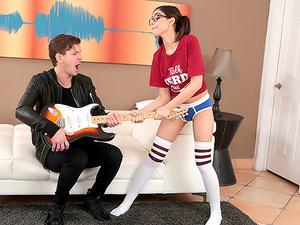 Geek Girl Gets It Rough