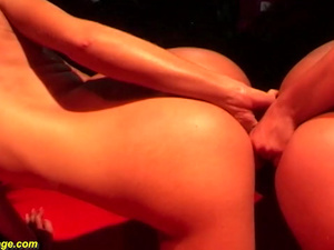 real lesbian porn on public stage