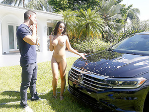 Milf Can I Wash Your Car