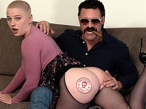 TOUGHLOVEX Big tit Riley Nixon is a dirty sex fiend