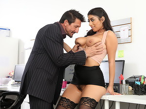 Big Tit Office Chicks #06!
