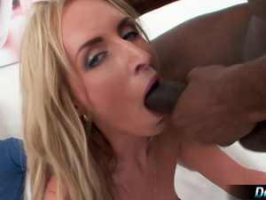 Cumslut Wife Jenny Simons Creampied by BBC While Resting on Cuckolds Lap