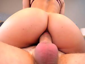 Big-Boob Blonde Blanche's Anal/A2M Fun
