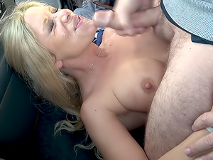 Sasha Steele Car wash flasher