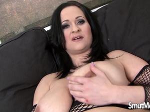 Big Tits MILF Diana Swiet Masturbates till a Black Hunk Comes for Help