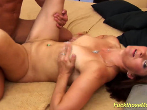 redhead mom rough doggystyle fucked