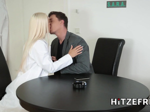 HITZEFREI Real life German sex doll is ready to please