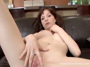 All she wants is a big cock for her tight little pussy