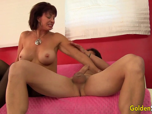 A Long Hard Cock Is Just What Mature Vanessa Videl Has Been Craving