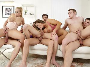 Orgies Not Swinging!