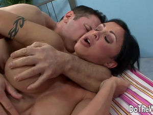 Do The Wife - Big Tits Housewife Showing Hubby How to Fuck Compilation 2