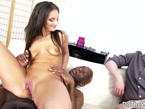 Do The Wife - Black Bull Impregnates Wife in Front of Cuckold Compilation 1