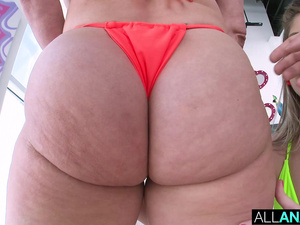 ALL ANAL Butthole delight with Vienna and Dee