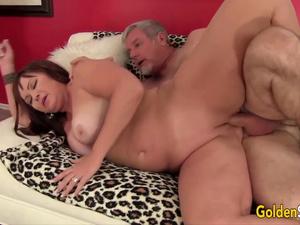 Golden Slut - Pounding Older Pussies Compilation Part 7