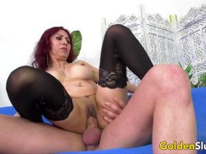 Golden Slut - Horny Older Cowgirls Compilation Part 7