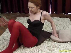 stepsister bending like a contortionist