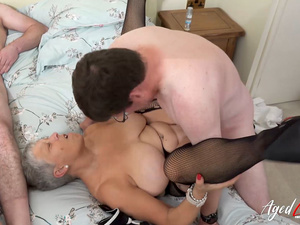 AgedLovE Two Matures Enjoying Hard Fast Fuck