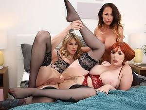 Menage A Trans #06 - Casey Kisses, Lauren Phillips, Mckenzie Lee