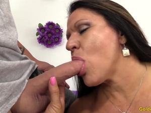 Golden Slut - Cock Hungry Matures Giving Head Compilation
