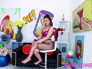 SWALLOWED Natalie Brooks depraved dicksucking