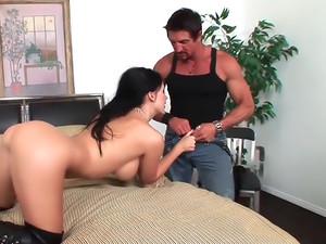 Busty Babe Aletta Ocean Loves Fucking That Big Cock