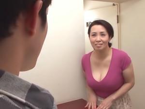 Busty Yuuko Kuremachi enjoys masturbation
