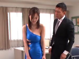 Busty Sayuki Kanno enjoys hardcore sex toys