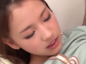 Nice teen Reina Takagi loves sex toys and cock