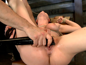 Gorgeous Girl, Screaming Orgasms, Tight Rope