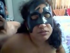 Bigtits Mature Indian Wife On Webcam With Her Man Giving Blowjob And Fucked