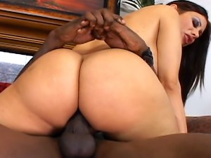 Sheila Marie fucks a huge black dick