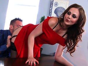 Tina Kay & Johnny Castle In Naughty Office