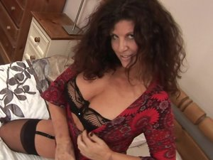Hot and horny housewife really going wild
