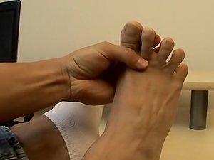 Asian Boy Feet Sticky With Cum - Sasha