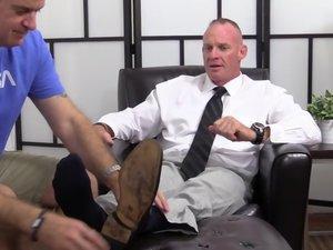 Dean Dev Michaels' Feet & Socks Worshiped - Dev