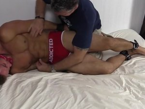 Muscle Hunk Chase Tickle In Bondage - mff0581_chaselachance