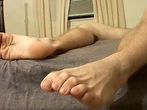 Grubby Socks Off - Cock Out - Scottie Blaze