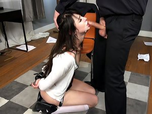 Rich Brat Learns A is for Anal