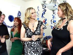Julia Ann, Eva Notty & Axel Aces in My Friend's Hot Mom