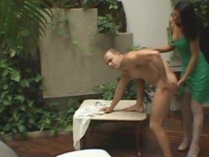 Anita and Michel tranny and pussyguy on video