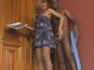 Carla and Paulo tranny dicking dude on video