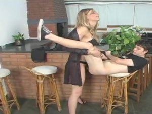 Alexia tranny screwing guy on video